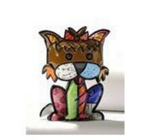 "ROMERO BRITTO MINI 1ST EDITION YORKSHIRE TERRIER ""PRECIOUS"" DOG"