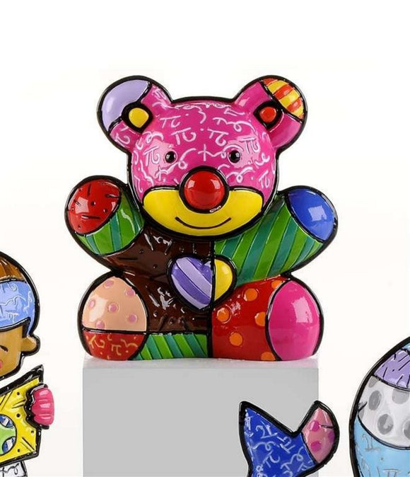 ROMERO BRITTO MINI 2ND EDITION BEAR