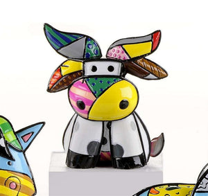 ROMERO BRITTO MINI 2ND EDITION BULL/COW
