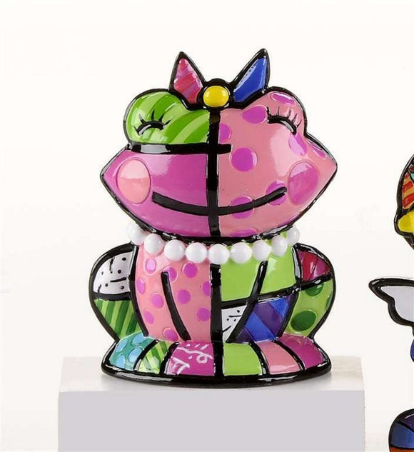 ROMERO BRITTO MINI 2ND EDITION PINK LADY FROG