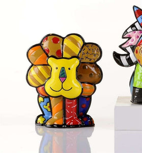 ROMERO BRITTO MINI 2ND EDITION LION