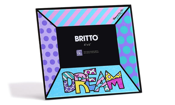 ROMERO BRITTO GLASS PHOTO FRAME- DREAM