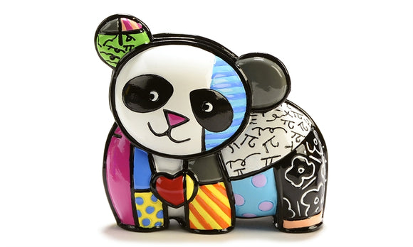 ROMERO BRITTO MINI FIGURINE- PANDA