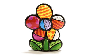 ROMERO BRITTO MINI FIGURINE- FLOWER
