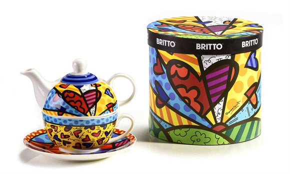 Romero Britto Bone China