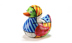 Romero Britto Limited Edition Duck Figurine- Joy