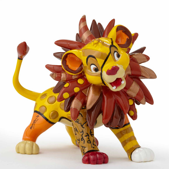 ROMERO BRITTO MINI SIMBA FIGURINE