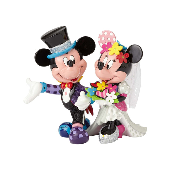 Disney By Britto Mickey & Minnie Wedding