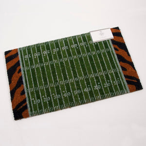 **NEW**Auburn University Door Mat W/Football Field & Tiger Stripes