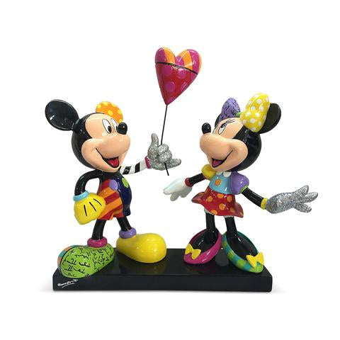 *NEW* DISNEY BY BRITTO MICKEY & MINNIE WITH BALLOON NLE 3000