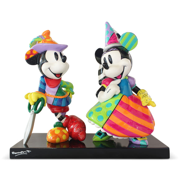 *New* Disney By Romero Britto Mickey & Minnie 9.67