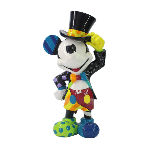 *New* Disney By Romero Britto Top Hat Mickey 8.5