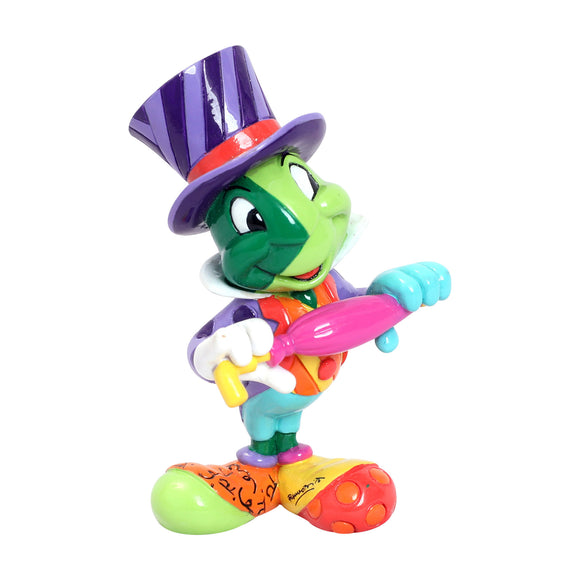 ROMERO BRITTO DISNEY JIMINY CRICKET MINI/MINIATURE FIGURINE
