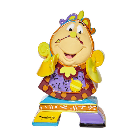 *NEW* DISNEY BY BRITTO MINI/MINIATURE COGSWORTH (FROM BEAUTY AND THE BEAST) FIGURINE
