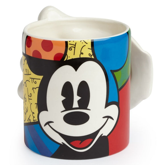 DISNEY BY BRITTO MICKEY MOUSE GLOVE MUG
