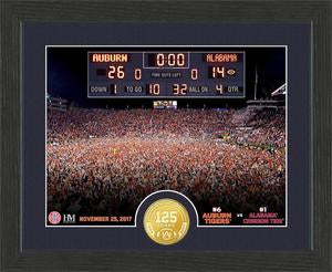 Auburn Tigers 2017 Iron Bowl Victory Photo Mint