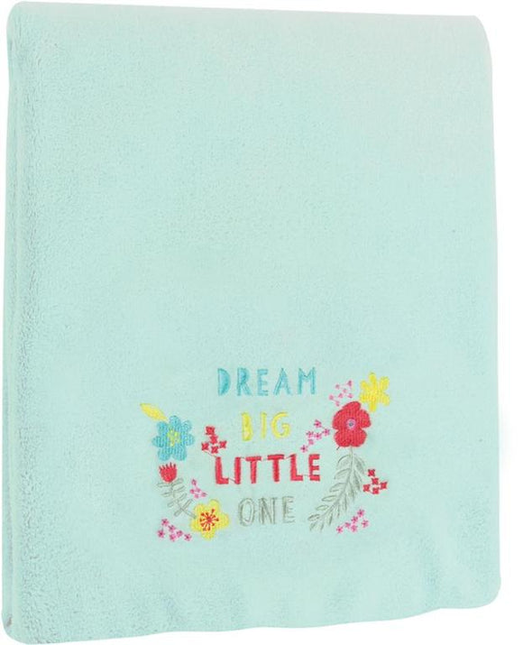 DREAM BIG FLEECE THROW