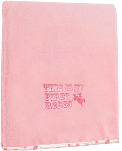 FIRST RODEO FLEECE THROW IN PINK