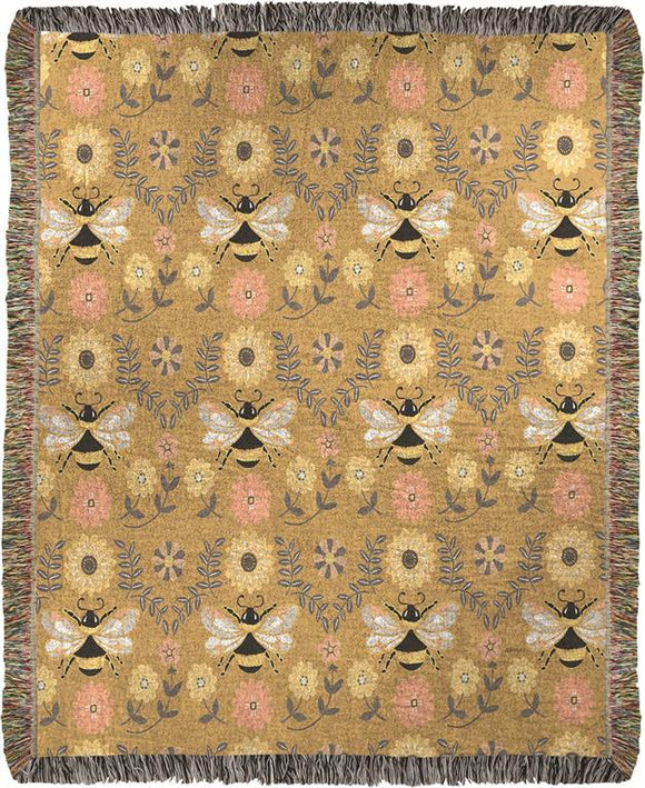 *NEW* HONEY AND HIVE MINI TAPESTRY THROW