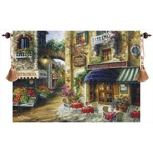 BUON APPETITO GRANDE' TAPESTRY WALL HANGING