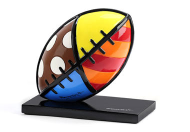 ROMERO BRITTO FOOTBALL FIGURINE
