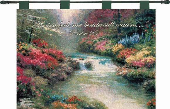 BESIDE STILL WATERS TAPESTRY WALL HANGING