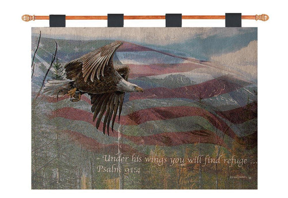 *NEW* MAY FREEDOM FOREVER FLY TAPESTRY WALL HANGING
