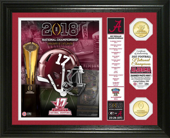 Alabama Crimson Tide 2017 Football National Champions