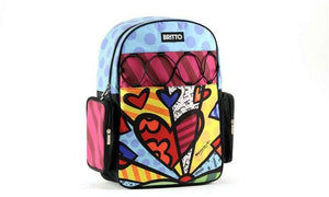 "Romero Britto ""A New Day"" Heart Backpack"