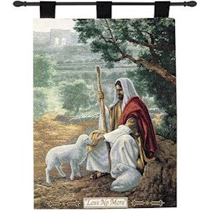 LOST NO MORE TAPESTRY WALL HANGING BY GREG OLSEN