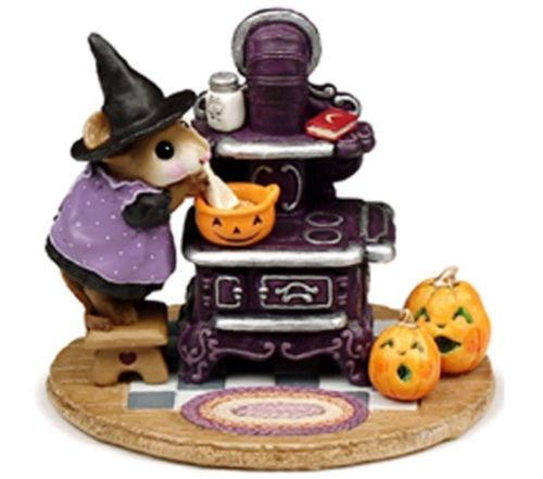 Wee Forest Folk Limited Edition Halloween The Old Black Stove