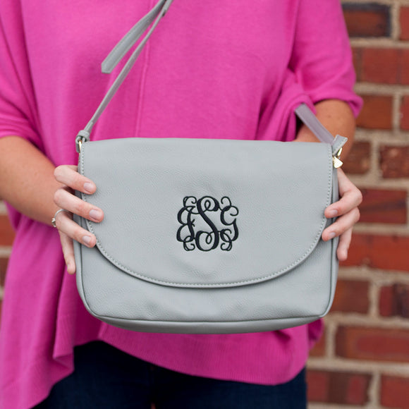 Anna Crossbody In Grey