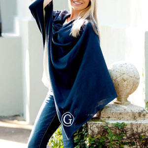 Chelsea Poncho In Navy