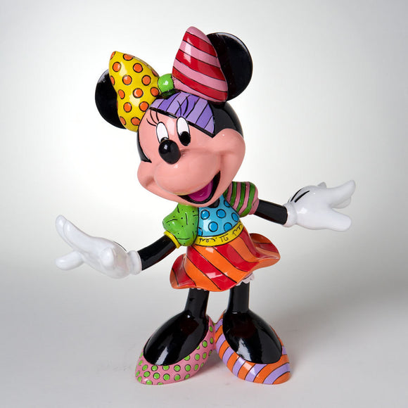 ROMERO BRITTO DISNEY MINNIE MOUSE FIGURINE