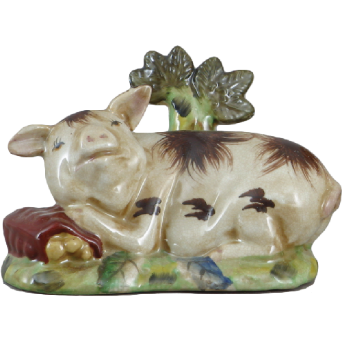 Staffordshire Reproduction Pig Figurine