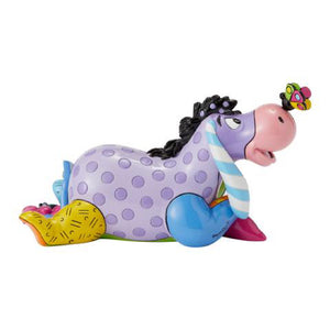 *NEW* DISNEY BY BRITTO MINI/MINIATURE EEYORE LAYING DOWN FIGURINE