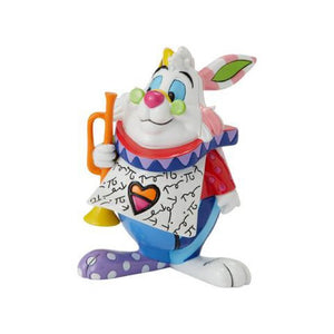 *NEW* DISNEY BY BRITTO MINI/MINIATURE WHITE RABBIT FIGURINE