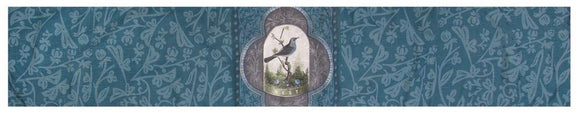 *New* Blue & Grey Bird Table Runner