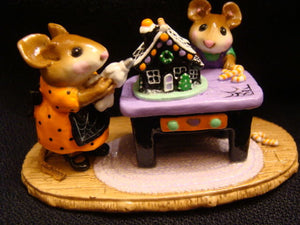 Wee Forest Folk Special Color Halloween Home Sweet Home