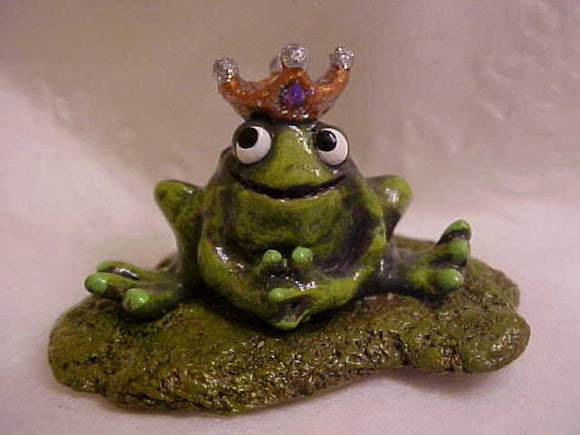Wee Forest Folk Special Color Frog Prince