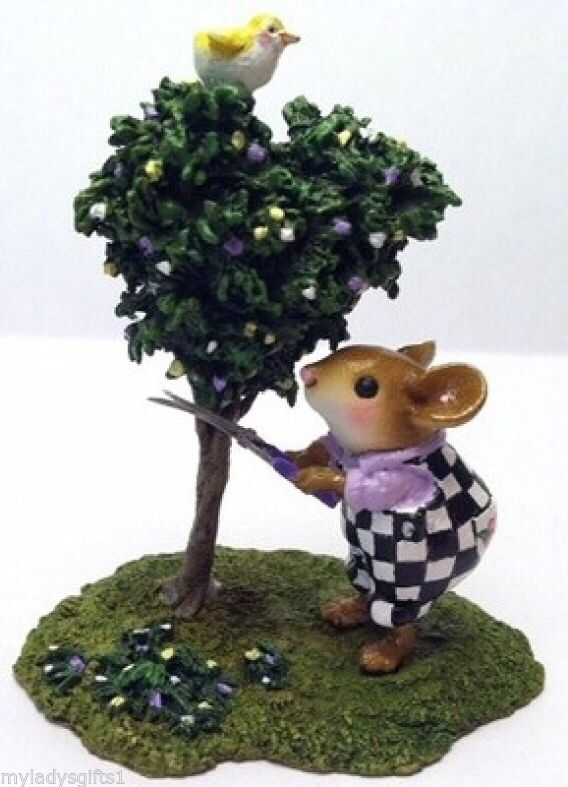 Wee Forest Folk Special Color Mousescape Spruce Up
