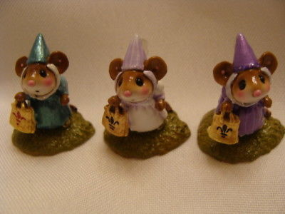 Wee Forest Folk Special Color Princess Trio
