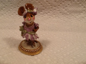 Wee Forest Folk Special Color The Purple Gang Flapper Girlfriend