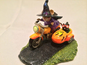 Wee Forest Folk Special Color Spooky Speeder With Moon & Bats