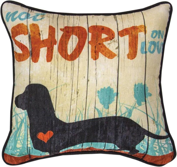 Not So Short On Love Pillow