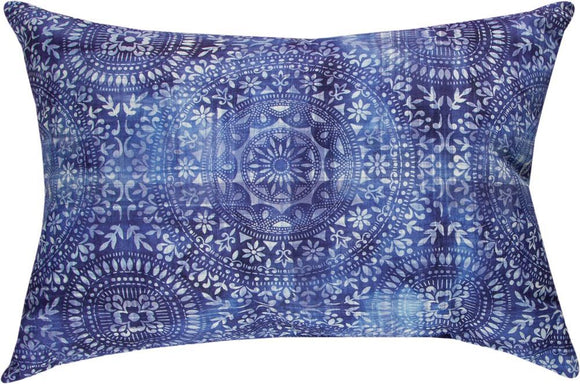 *New* Craft Blue & White Rectangle Pillow