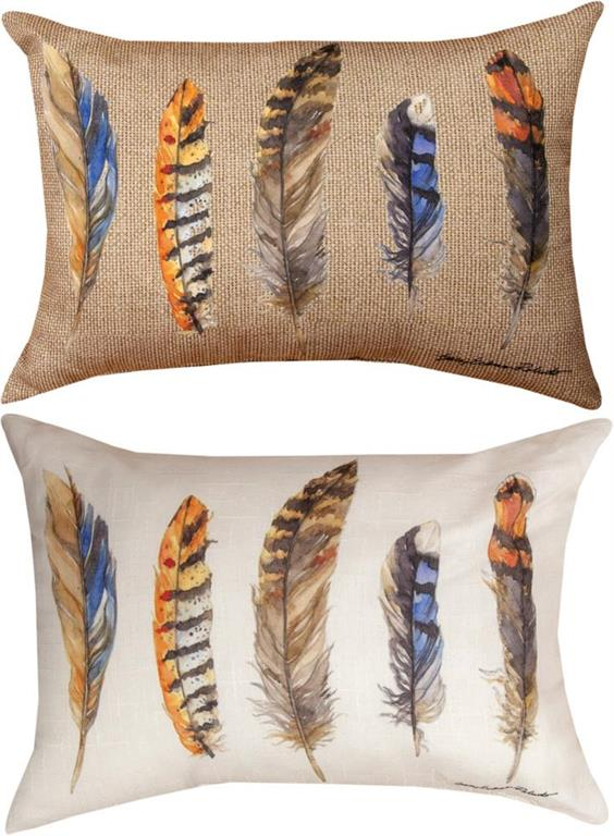 *NEW* FEATHERS RECTANGLE PILLOW