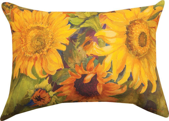 *NEW* SUNNY FACES RECTANGLE PILLOW