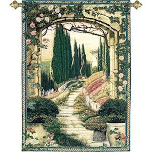 SOUTH OF FRANCE GRANDE' TAPESTRY WALL HANGING