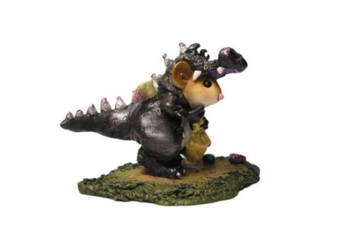 WEE FOREST FOLK SPECIAL COLOR BLACK CHARITY DRAGON DRESS UP